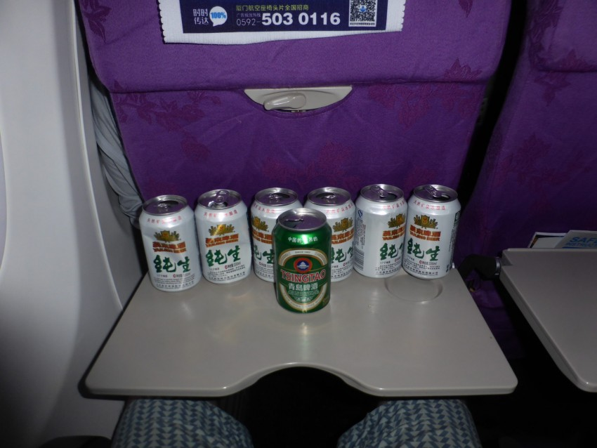 Drunk on a Plane in China