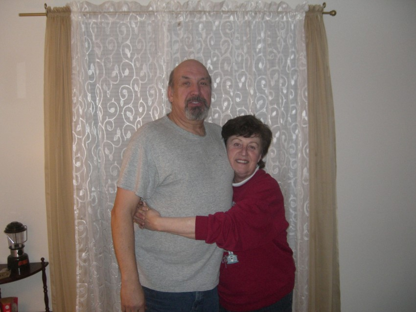 Doug and mom in 2010.