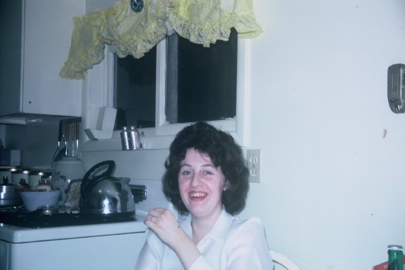 Mom. Sometime in the 1970's.