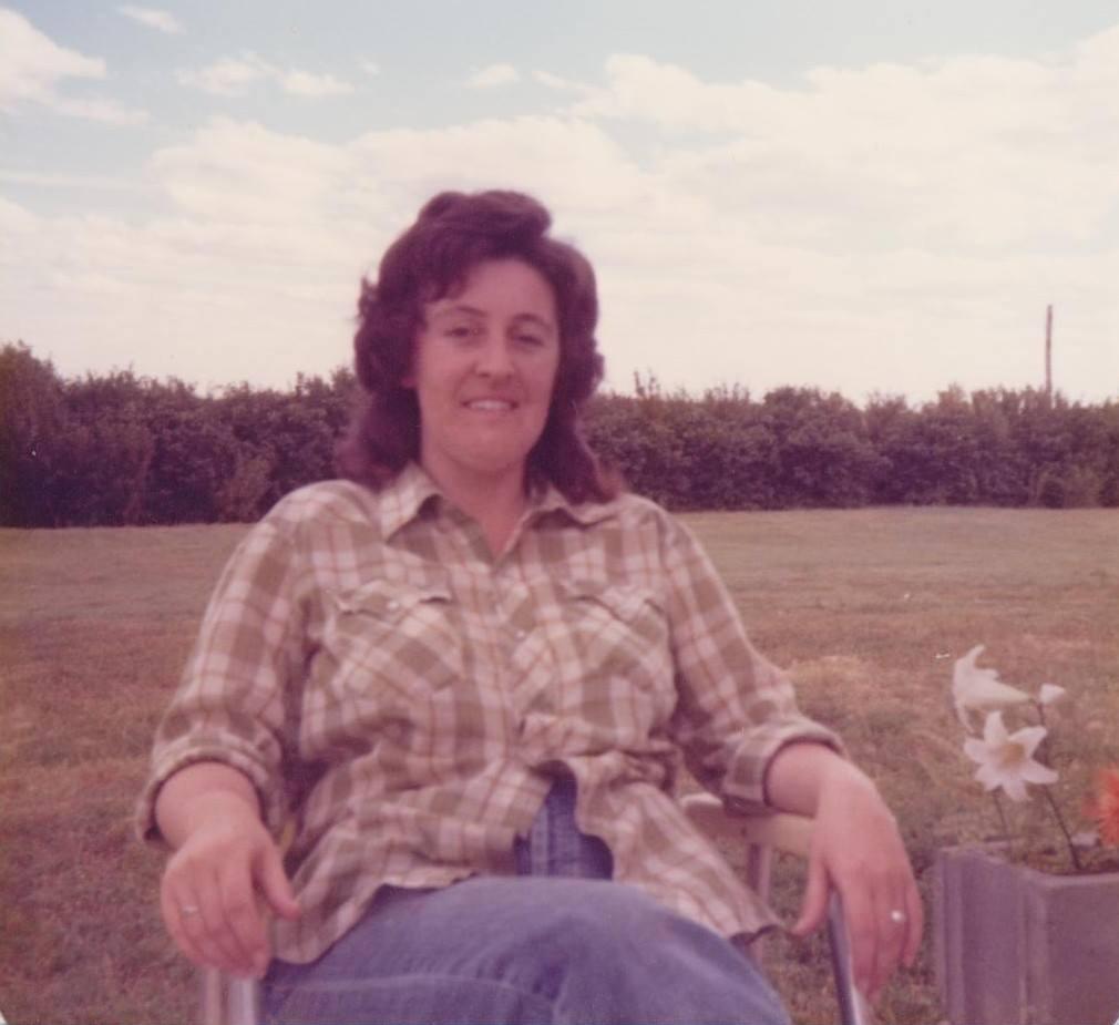 Mom, representing farm life!