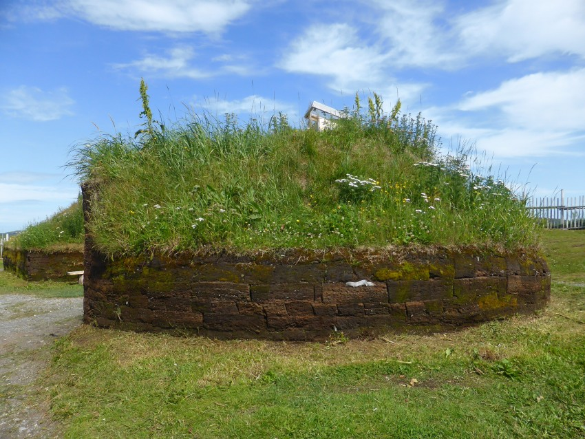 L'Anse aux Meadows Viking Settlement in Newfoundland